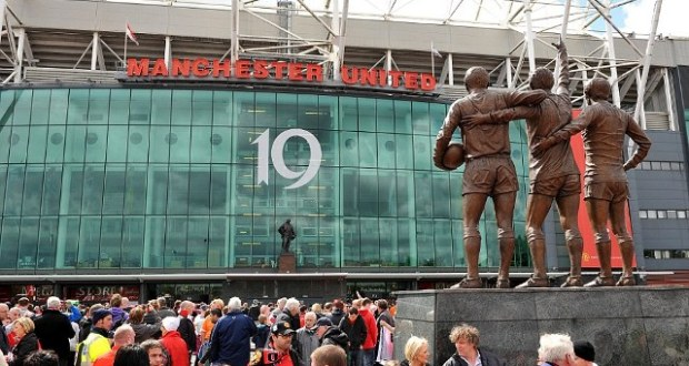 manchester United's stadium Old trafford