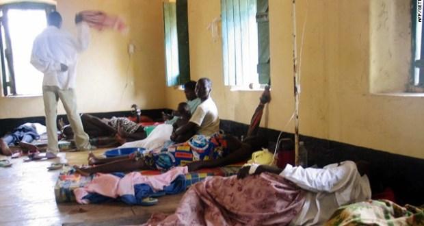 Cholera patients discharged