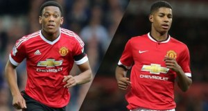 Rashford Says he loves competting with Martial