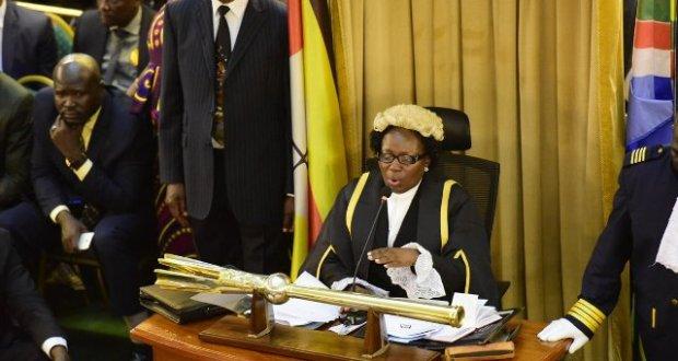 The speaker kadaga is not sober nambooze says