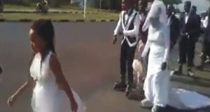 Couple That Slayed Over Their Wedding On Skates In Rwanda
