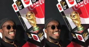 Ykee Benda Excited To Sing At The World Cup In Russia