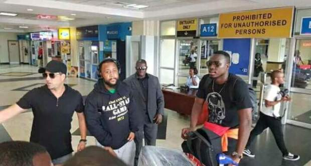 South African Rapper Casper Nyovest In Uganda For MTN Pulse Party