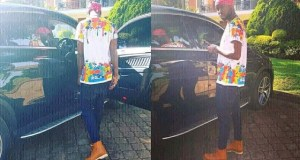 Singer Eddy Musuuza Kenzo In His New Latest Ride