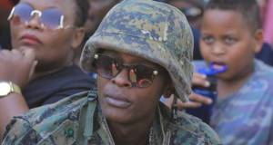 Owino warned over selling military attire