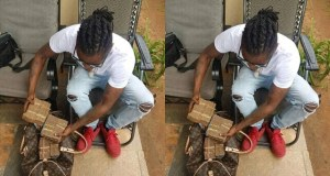 Weasel Manizo Shows Off His Salary From White Brian Foundation