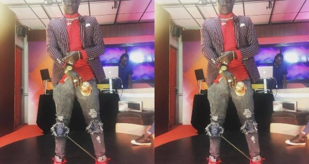 Rapper Gravity Omutujju Admitted That He Is A Real Monkey
