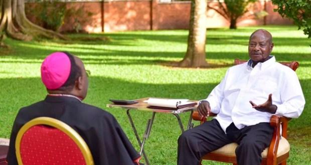 museveni and Lwanga meet