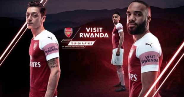Rwanda signs with Arsenal