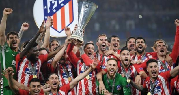 Atletico madrid win europa league
