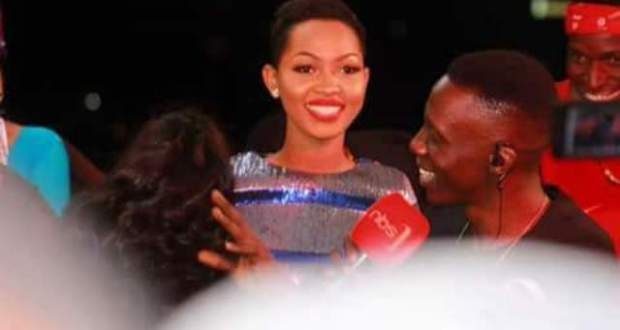 Spice Diana Thanked Douglas Lwanga For Believing In Qute Kaye's Talent