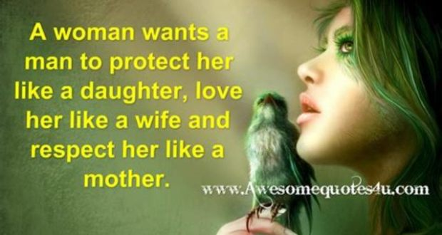 What Does It Take To Be A Real Man? Real Men Protect Their Wives