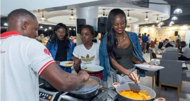 Capital Kitchen Grand Opening Excited Many Crowds Around Kampala