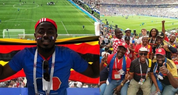 Ykee Benda And Fellows Witnessed The Historical World Cup Finals