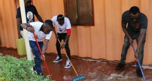 MC Kats Grabs A Job As A Cleaner In Bryan White Foundation