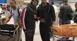 Bebe Cool and Sasha Vybz