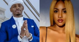 Tanasha-Diamond Platnumz Replaces Zari With A Radio Presenter