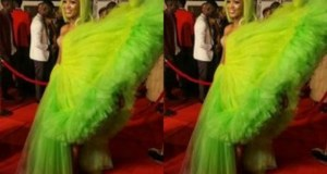 Spice Diana Shows Off With Her Exoensive Award Winning Dress