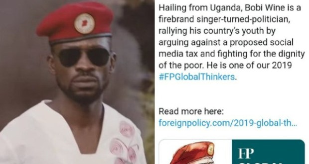 Bobi Wine Feels Honored Amongst The Most Wise Thinkers