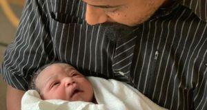 Navio Finally Warms Up With A Newly Born Baby Boy