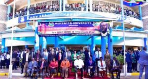 museveni at kenyatta university