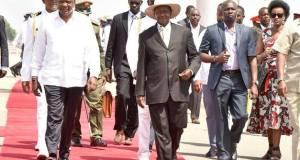 president museveni in kenya