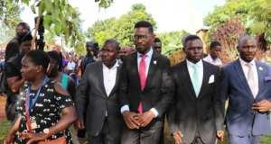 Bobi Wine Joined Mourners