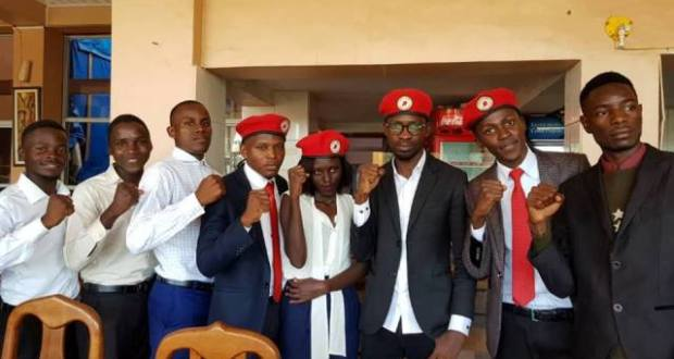 Bobi Wine Welcomed By The Makerere Guild