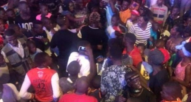 Gravity Omutujju Punched A Fan Who Tried To Steal His Chain