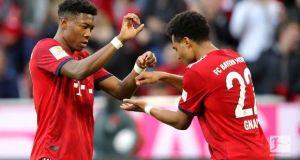 Bundesliga league results