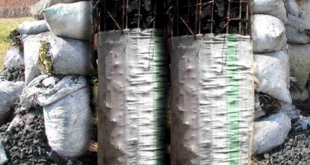 charcoal burning in Uganda
