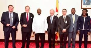 museveni meets investors