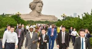 president museveni in China