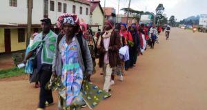 rwandan pilgrims
