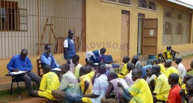 Vian Kwezira, a Gulu Grade One Magistrate has finally remanded over 40 law breakers to Gulu Prison. These are aimed serve their punishment