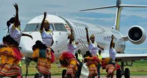 Uganda Airlines government officials