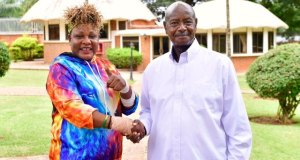 Museveni Welcomes His Daughter, Full Figure At State House
