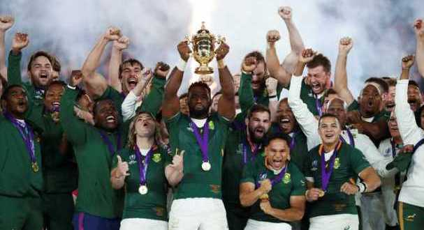 South Africa wins Rubgy world cup 2019