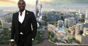 Akon to build own city