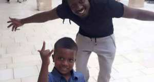 Bebe Cool Happily Celebrates His Son's Birthday In Style