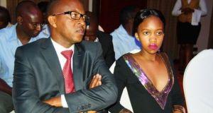 Frank Gashumba and daughter Sheilah Gashumba