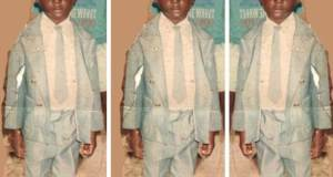 Khalifa Aganaga Shares Childhood Pictures As He Celebrates Mothers Day