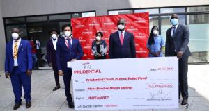 prudential Uganda donates shs300 million to covid-19