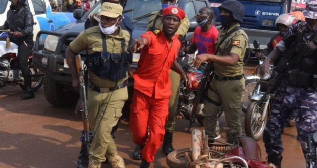 Bobi Young Arrested And Detained At Kira Road Police Station