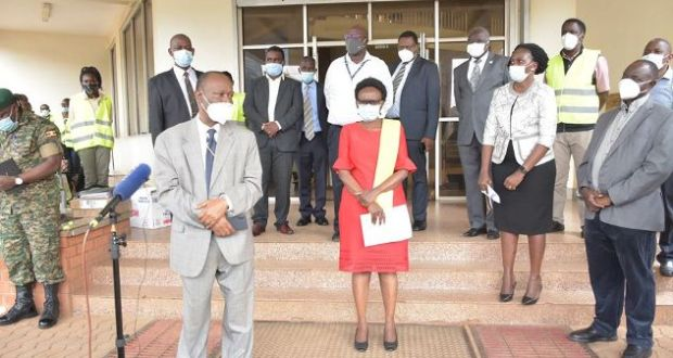 Dr Jane Aceng Flags Off Teams To Conduct Second Rapid Assessment Survey