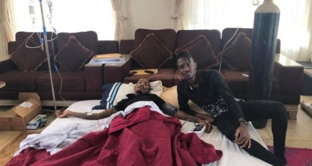 Apass visits Bryan White at his home