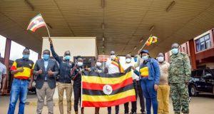 Joshua Cheptegei returns back in uganda