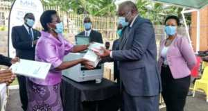 Ministry Of Health Hands Over Equipments
