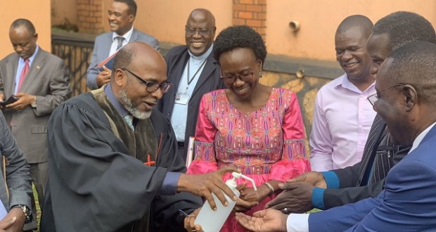 religious leaders with the minister of health