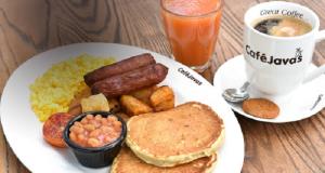 Café Javas food